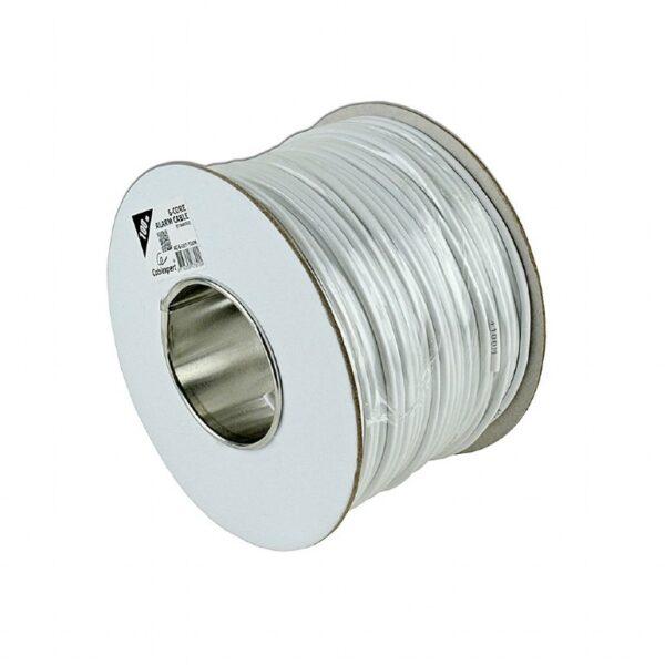 """ROLA CABLU alarma GEMBIRD, 100 m, 6 fire colorate, cupru, ecranat, alb, """"AC-6-002-100M"""""""