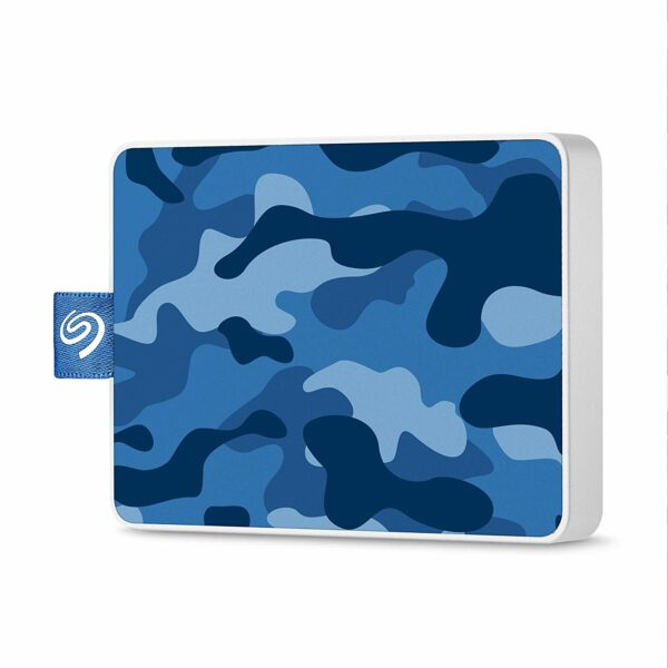 """SG EXT SSD 500GB USB 3.0 ONE TOUCH BLUE """"STJE500406"""""""