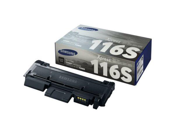 "Toner Original Samsung Black, D116S, pentru SL-M2625|M2675|M2825|M2875|M2835|M2885, 1.2K, incl.TV 0.55RON, ""SU840A"""