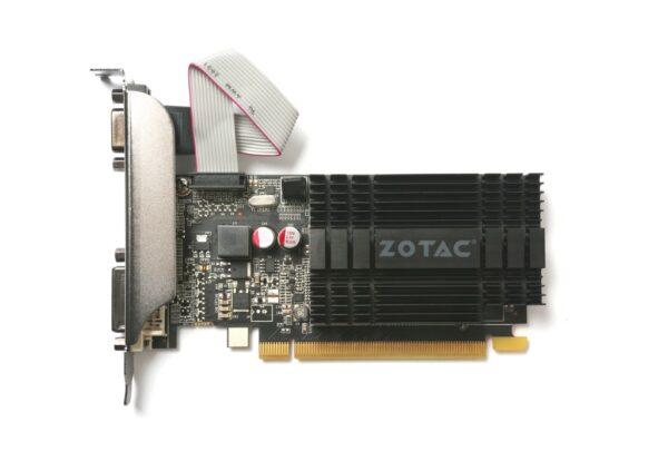 """PLACA VIDEO ZOTAC GeForce GT 710, 1GB DDR3 (64 Bit), HDMI, DVI, VGA """"ZT-71301-20L"""""""