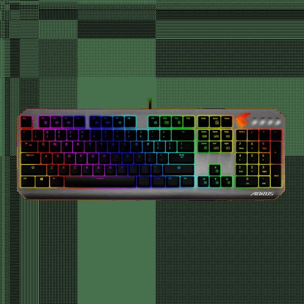 Tastatura Gaming Mecanica   Iluminare RGB Per key   Switch-uri Cherry MX Red   USB 2.0