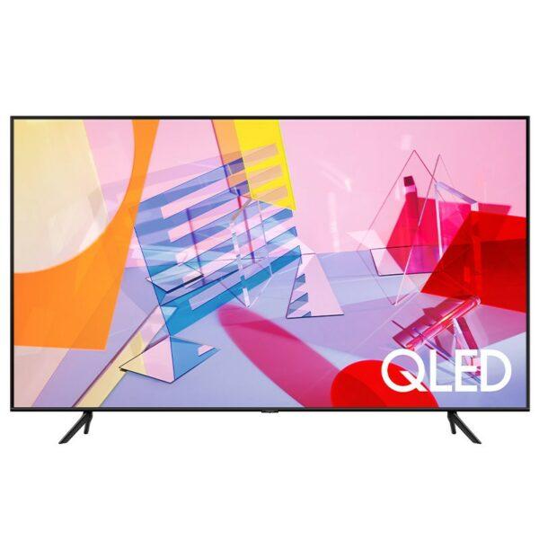 "TV QLED SAMSUNG, 50″ (126 cm), Smart TV | Internet TV, ecran plat, 4K UHD, 3840 x 2160, 20 W (RMS), ""QE50Q60TA"""