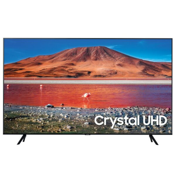 "TV LED SAMSUNG, 43″ (108 cm), Smart TV   Internet TV, ecran plat, 4K UHD, 3840 x 2160, 20 W (RMS), ""UE43TU7072"""